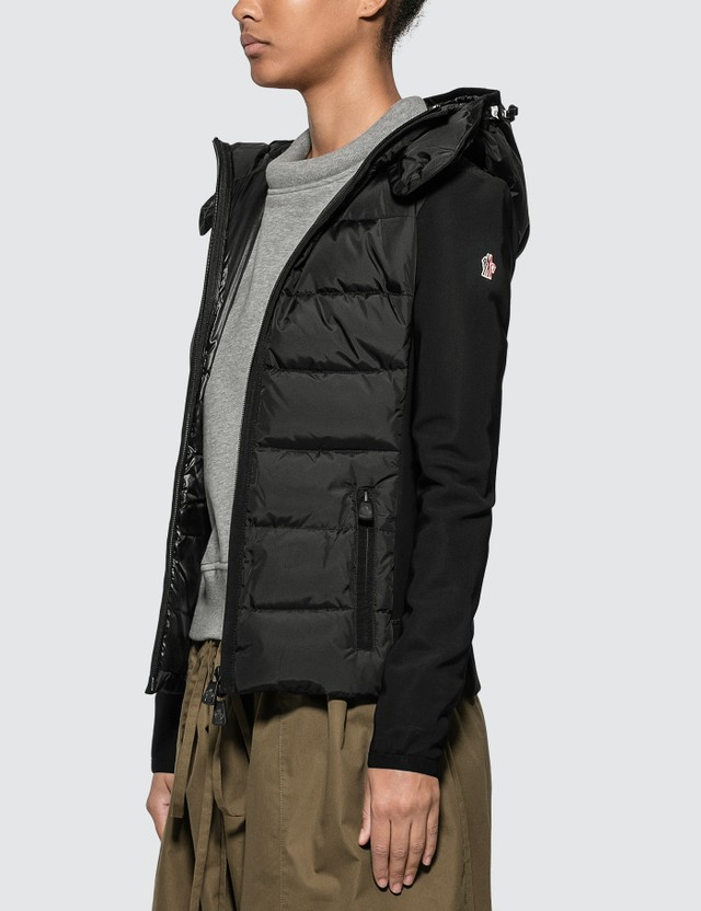 Moncler Hooded Down Cardigan