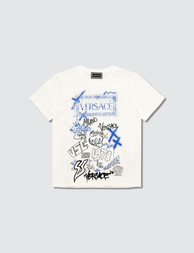 Versace white Graffiti T-shirt (Toddler)