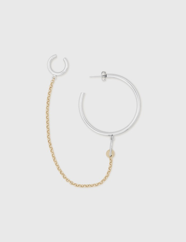 Justine Clenquet Nicky Earring Gold Women