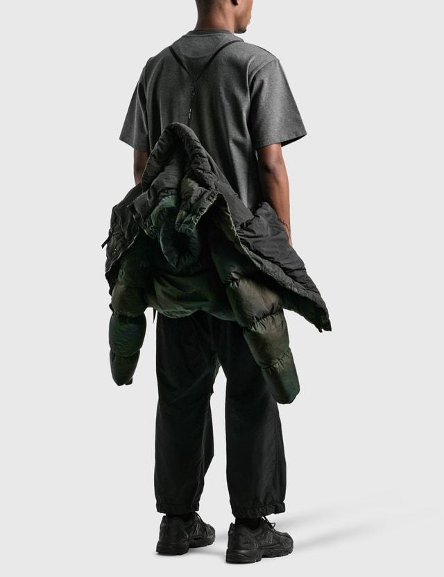 Nemen Tawa Tie Dye Down Jacket Jungle Green Men