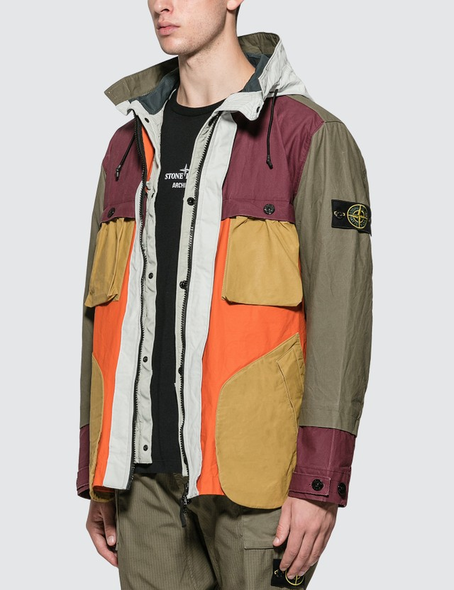 Stone Island Hooded Field Jacket