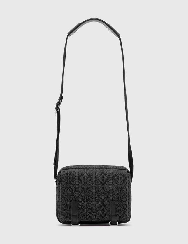 Loewe XS Military Messenger bag Anthracite/black Men