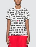 Maison Kitsune Kool Fox All-over T-shirt Picture