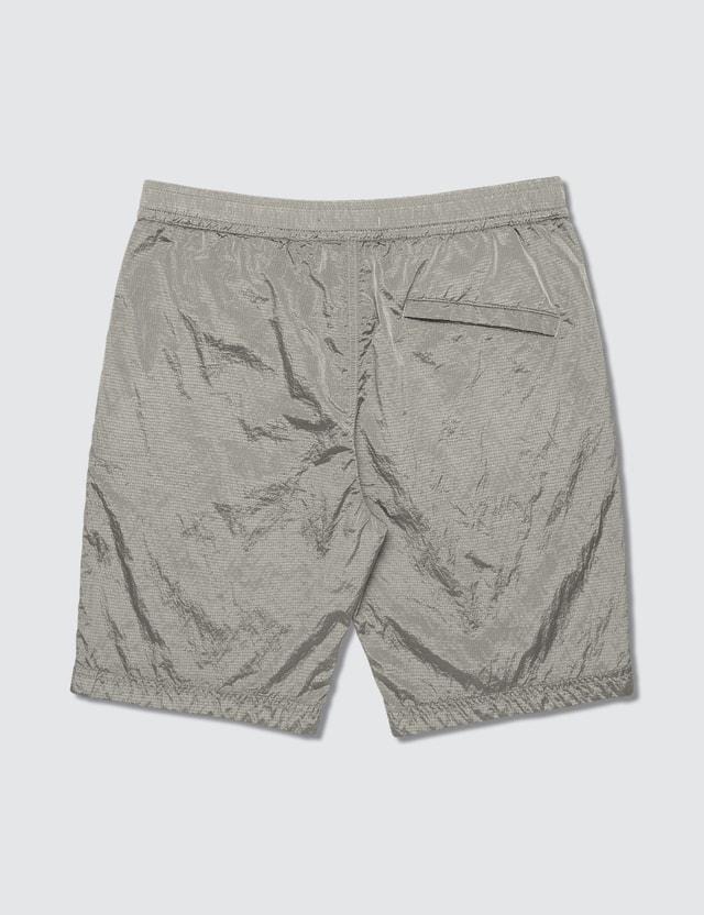 Stone Island Nylon Metal Ripstop Bermuda Shorts Dust Men