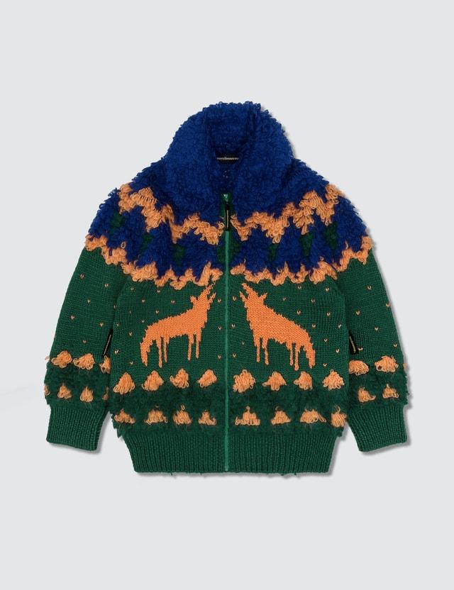 mercibeaucoup, Zip-up Knitwear