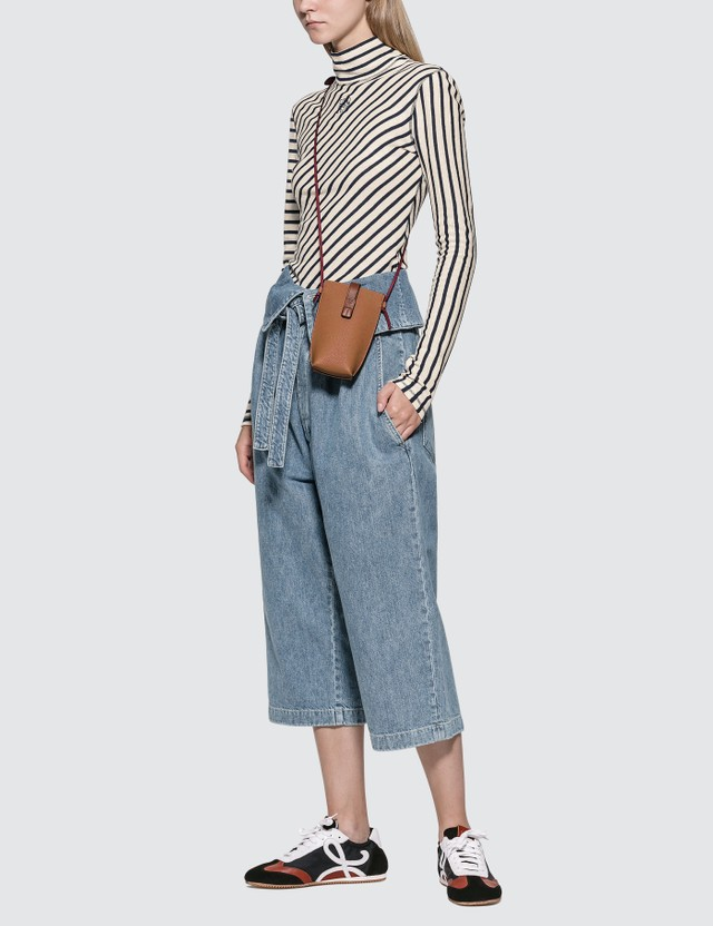 Loewe Belted Pleated Oversize Jeans