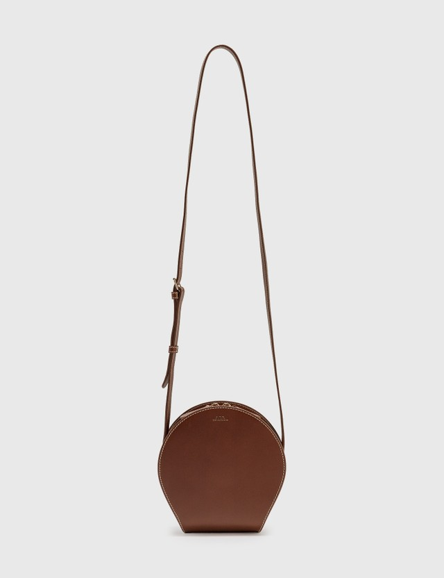 A.P.C. Myla Small Bag CAD NOISETTE Women