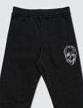 Alexander McQueen Skull Logo Embroidery Sweatpants