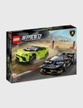 LEGO Lamborghini Urus ST-X & Lamborghini Huracán Super Trofeo EVO Picture