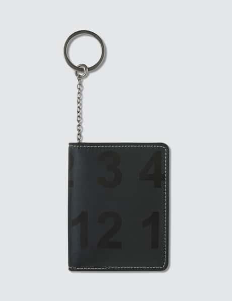 메종 마르지엘라 Maison Margiela Reflective Card Holder
