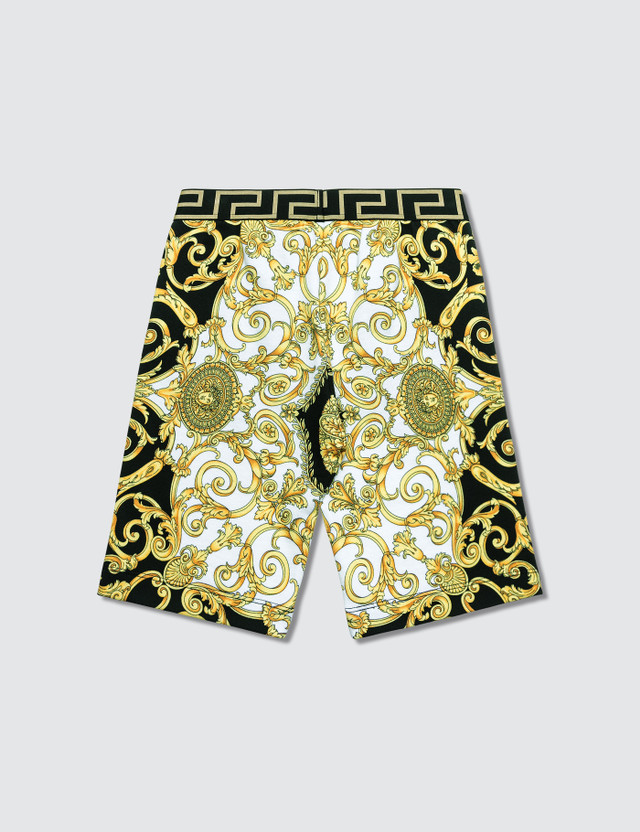 Versace Allover Printed Shorts