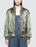 Calvin Klein Jeans Ona Sateen Bomber Jacket Picture