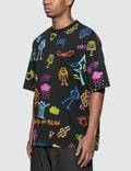 Marcelo Burlon All Over Sketch Over T-Shirt