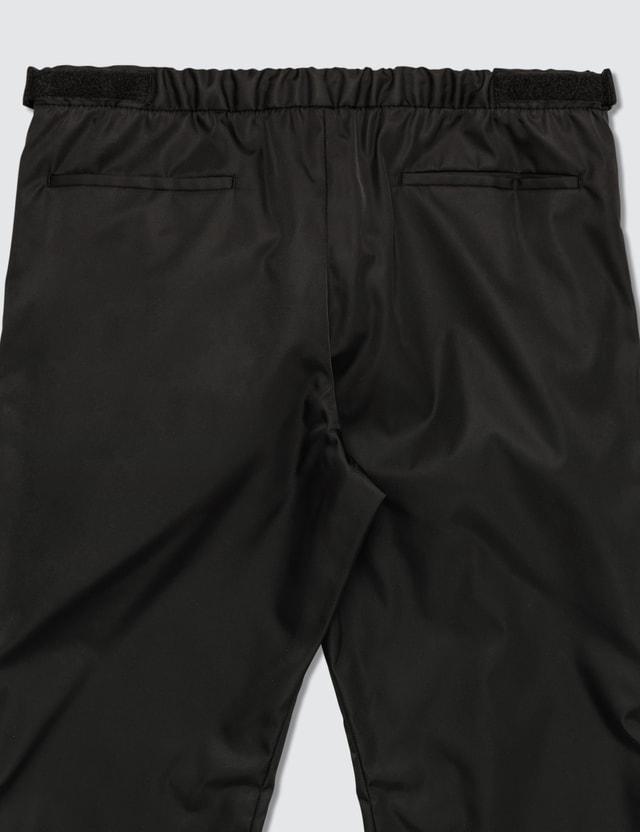 Prada Gabardine Nylon Track Pants