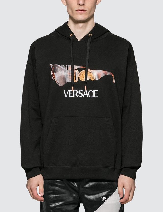 Versace Medusa Biggie Print Hoodie