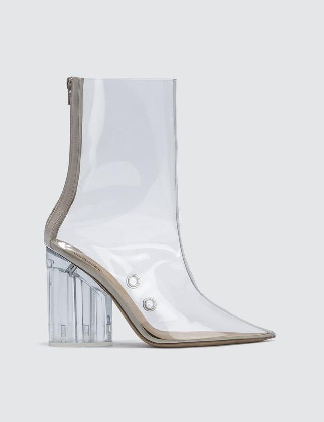 Yeezy Ankle Boot In Pvc 100mm Heel