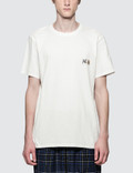Maison Kitsune Double Fox Head Patch S/S T-Shirt Picutre