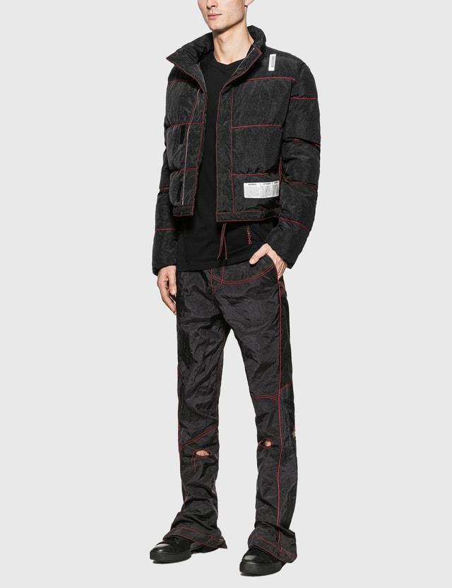 KANGHYUK Cotton Reversible Long Sleeve T-Shirt Black Men