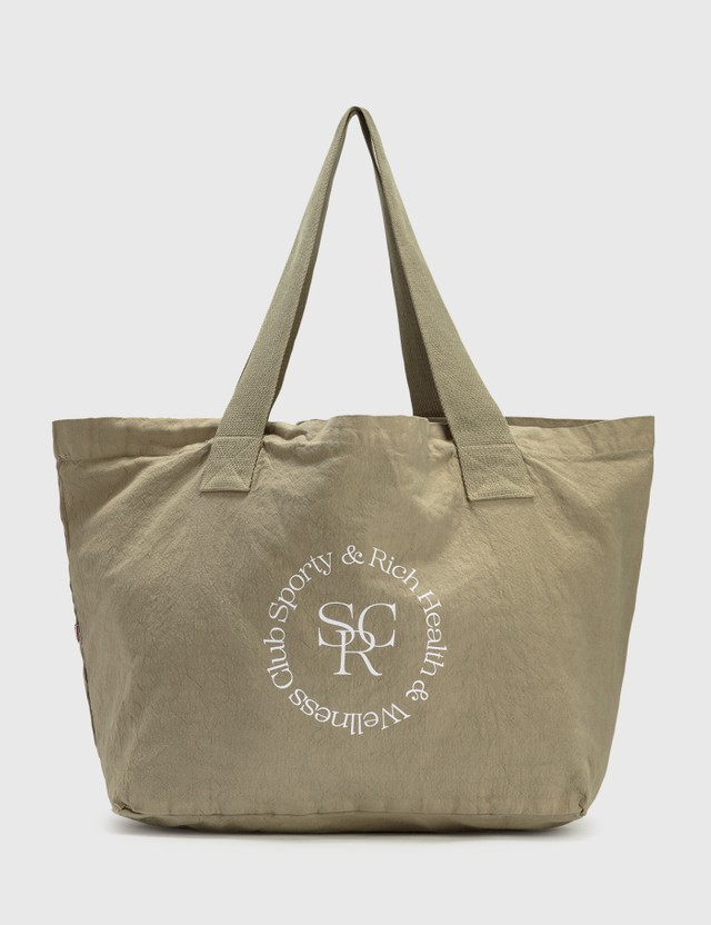Sporty & Rich SRHWC Tote Bag Elephant/white Women