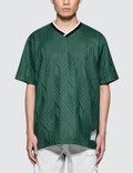 Alexander Wang Custom Wool Jacquard Soccer Polo Shirt Picture