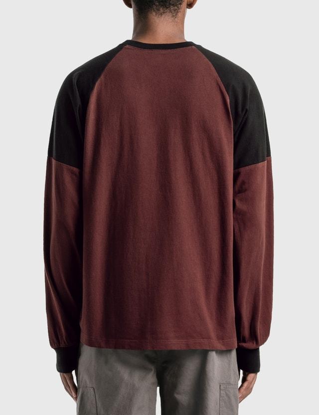 Thisisneverthat Overdyed Raglan Long Sleeve Top
