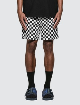 Have A Good Time Checkerboard Easy Shorts
