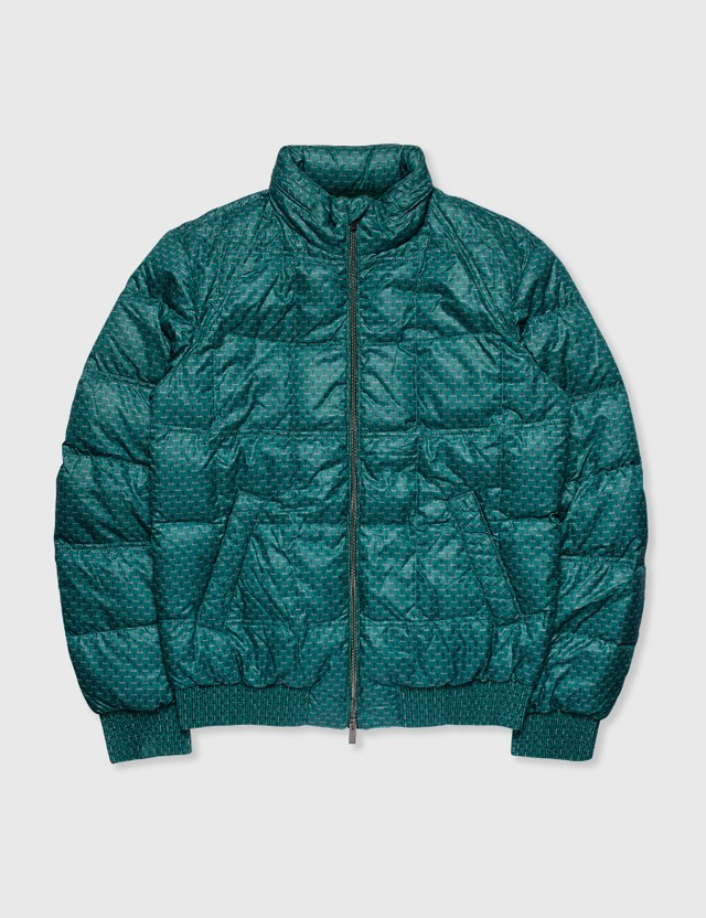Fendi Fendi Puffer Jacket Green Archives