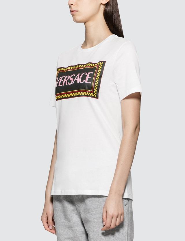 Versace Box Logo Short Sleeve T-shirt