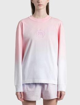 Alexander Wang.T Ombre Long Sleeve T-Shirt