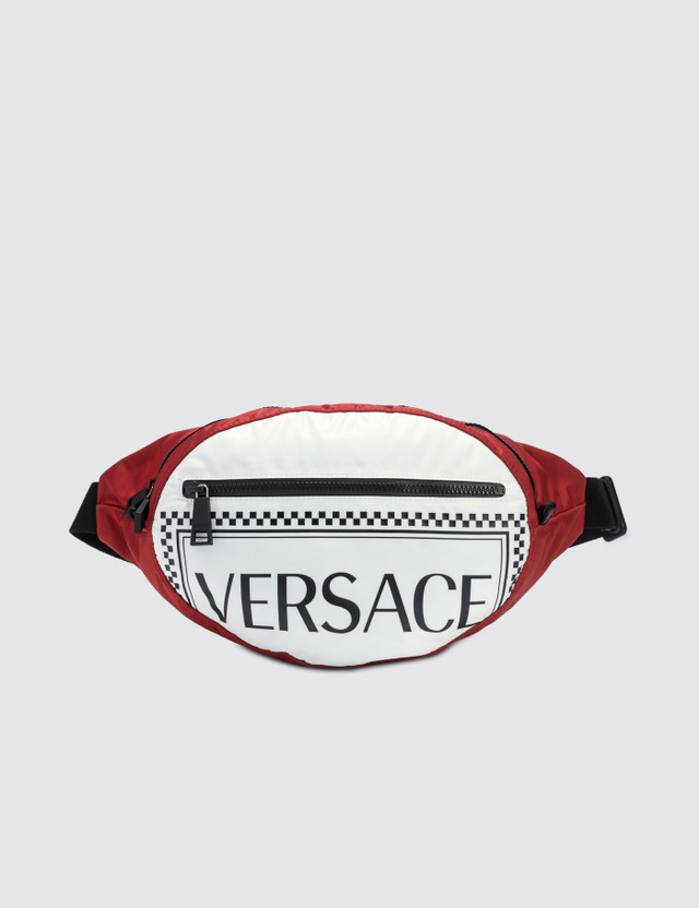 Versace Nylon Versace Logo Fanny Pack