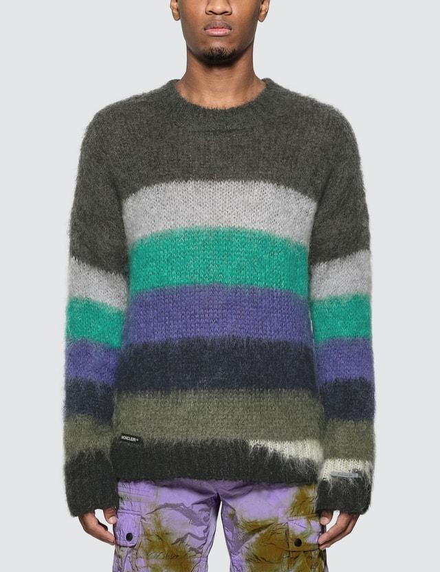 Moncler Genius Moncler Genius x Fragment Design Mohair Knitted Jumper