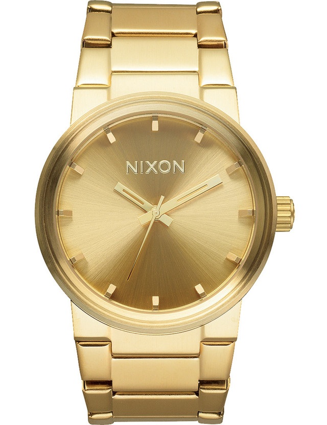 Nixon All Gold Cannon Watch