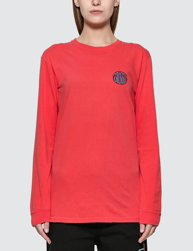 Stussy Solar Pig. Dyed Long Sleeve T-shirt