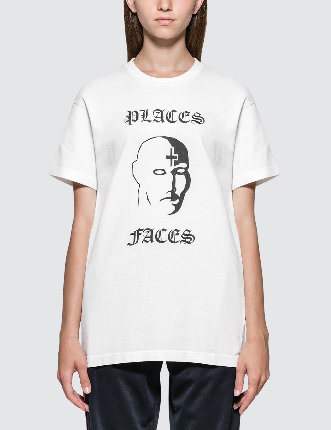 PLACES + FACES | Places + Faces Face Logo Short Sleeve T-shirt | Goxip
