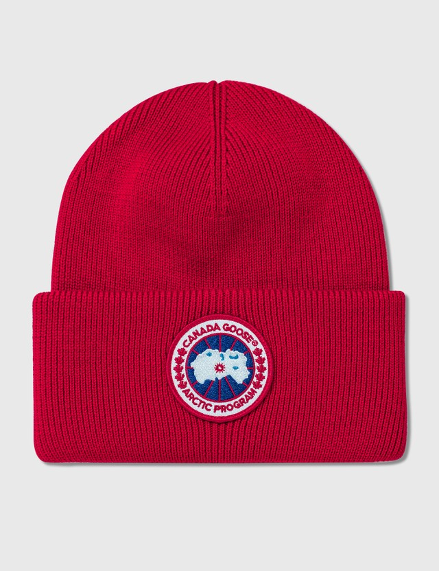 Canada Goose Arctic Disc Toque Beanie Red Men