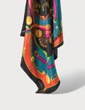 Versace Barocco Rodeo Print Silk Foulard Picutre