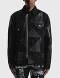 Sacai Hank Willis Thomas Solid Mix Blouson Picture