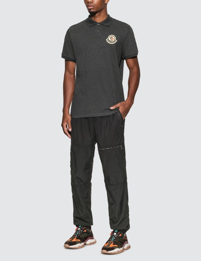 Moncler Maglia 폴로 셔츠 Black Men