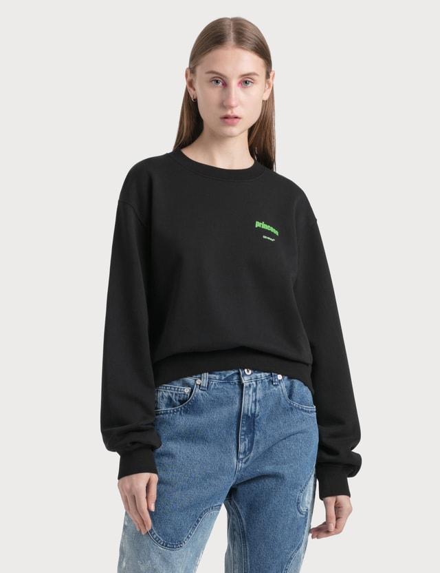 Off-White Princess Crop Sweatshirt