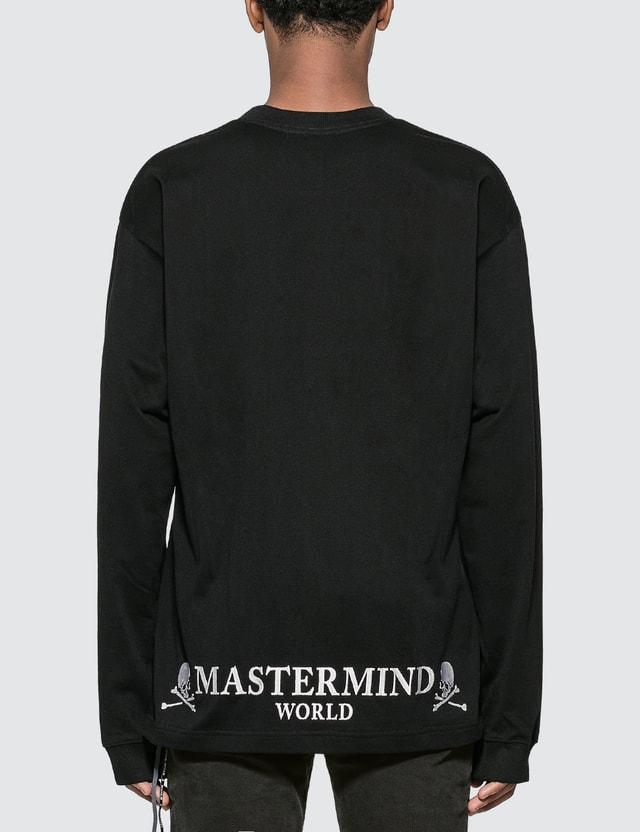 Mastermind World Logo Embroidery Long Sleeve T-Shirt