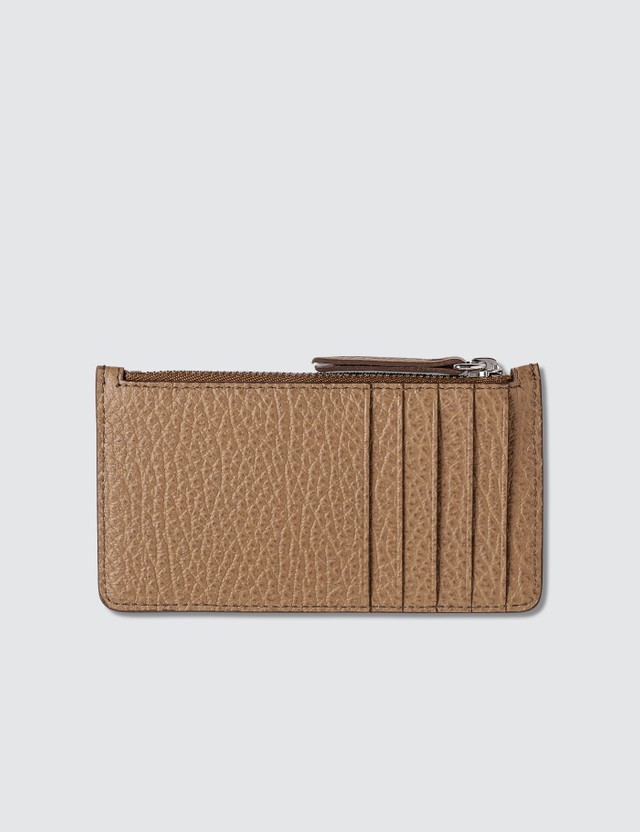 Maison Margiela Zip Leather Card Holder