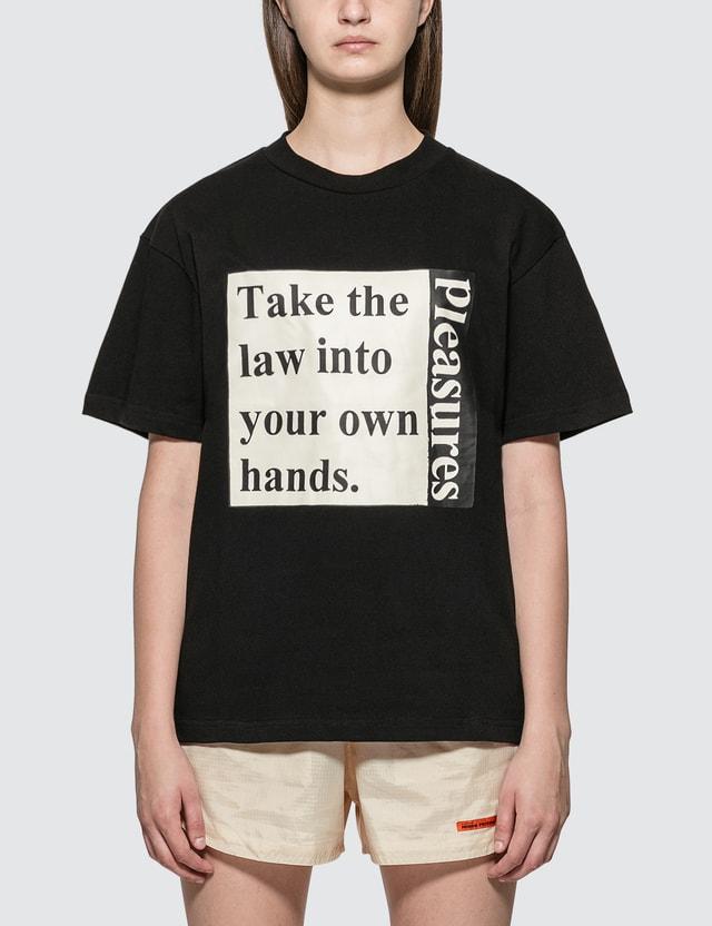 Pleasures Lawless Heavyweight T-Shirt