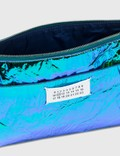 Maison Margiela Iridescent Clutch Bag Blue-green Women