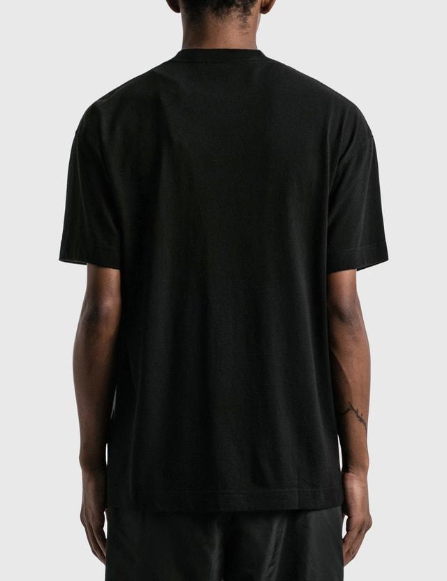 Palm Angels Milano Sprayed T-shirt Black Men