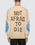 Pleasures Not Afraid Tye Dye Long Sleeve T-Shirt