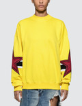 MSGM Stars Intarsia Rugby Sweatshirt Picture