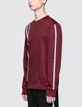 Helmut Lang Sport Stripe Sweatshirt