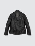 Number Nine Zip Leather Jacket Picture