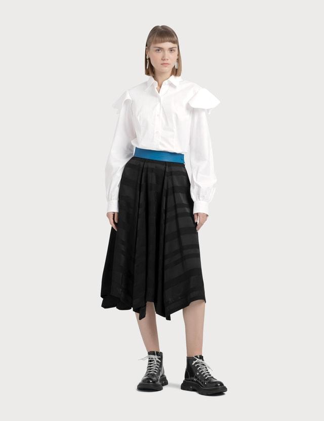 Loewe Asymmetric Skirt Black Women