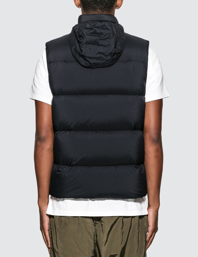 Moncler Causses Gilet Black Men